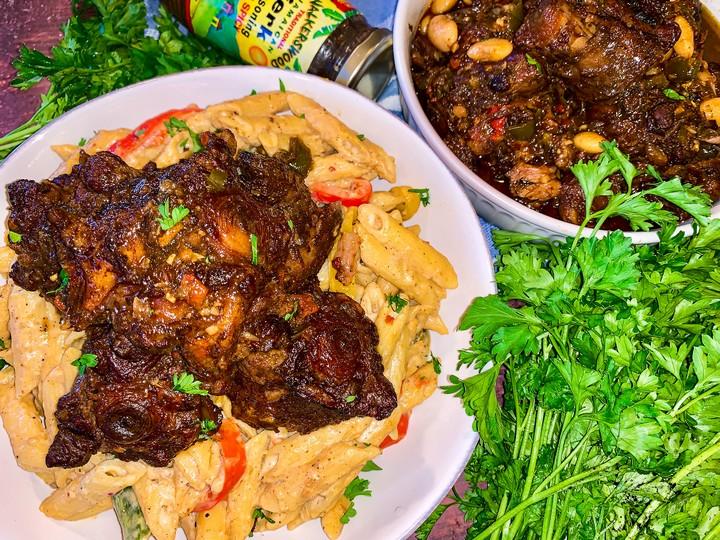 Jamaican Rasta Pasta