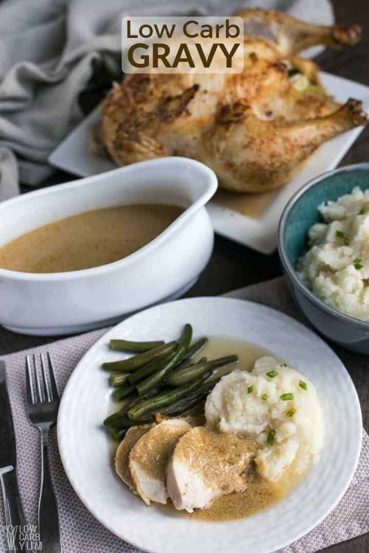 Keto Gravy Recipe for Roasted Meats