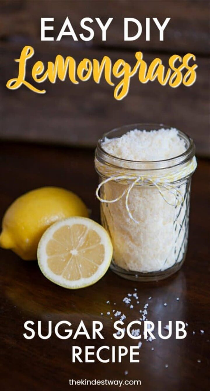 Lemongrass DIY Body Scrub