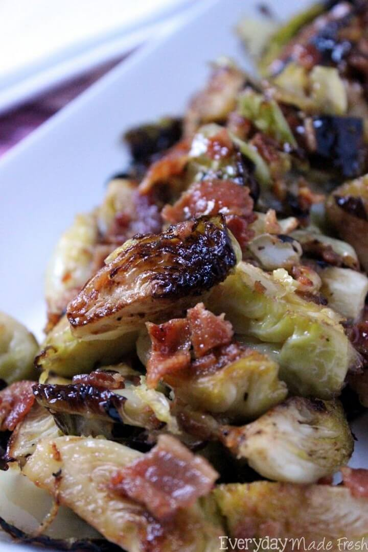 Maple Bacon Brussels Sprouts 2