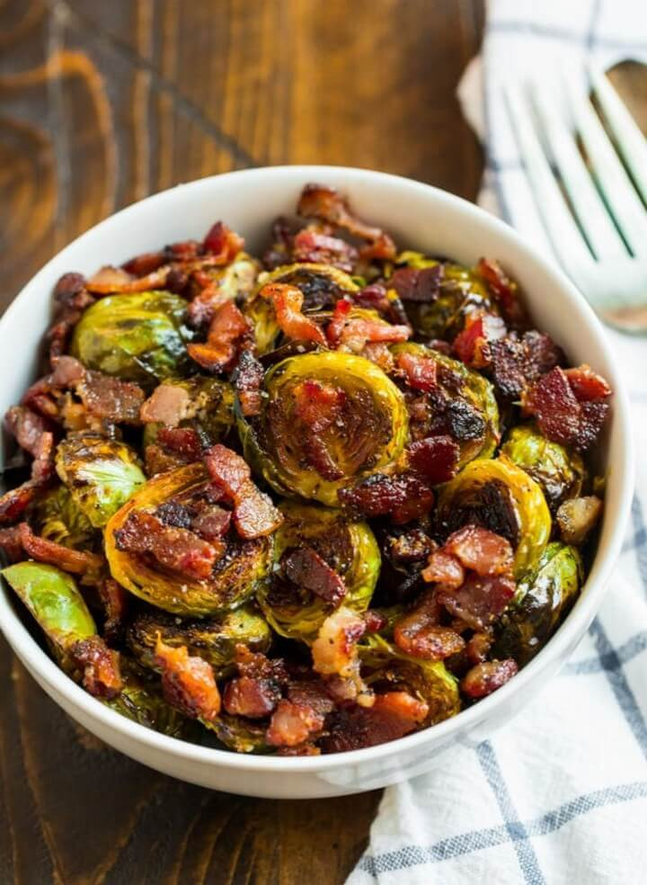 Maple Bacon Brussels Sprouts 4