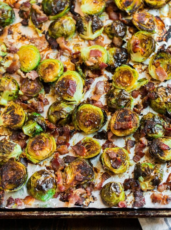 Maple Bacon Brussels Sprouts 7