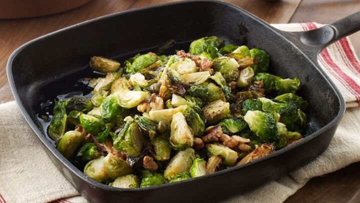 Michael Brussels Sprouts with Walnuts and Capers