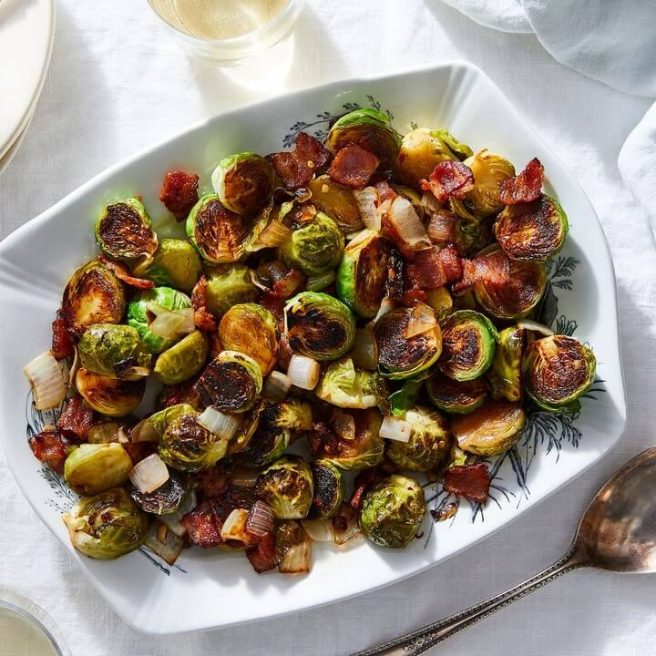 Our Best Brussels Sprouts With Bacon