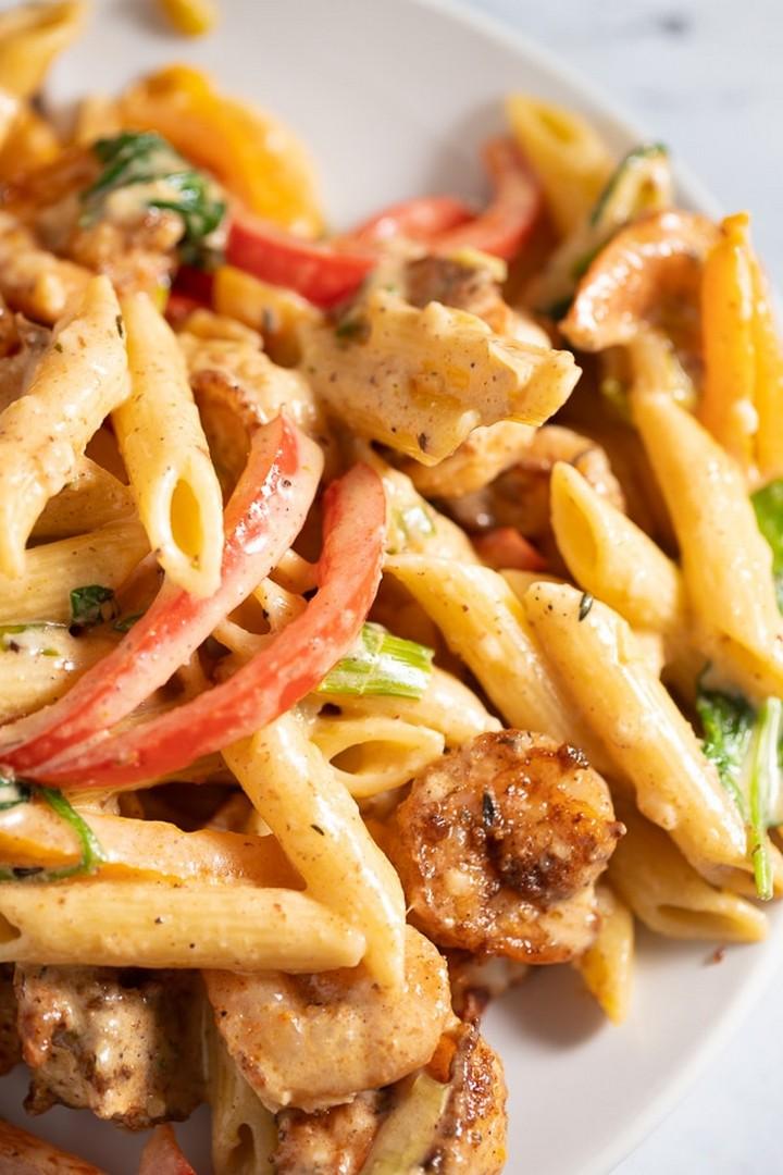 Rasta Pasta Easy Recipe
