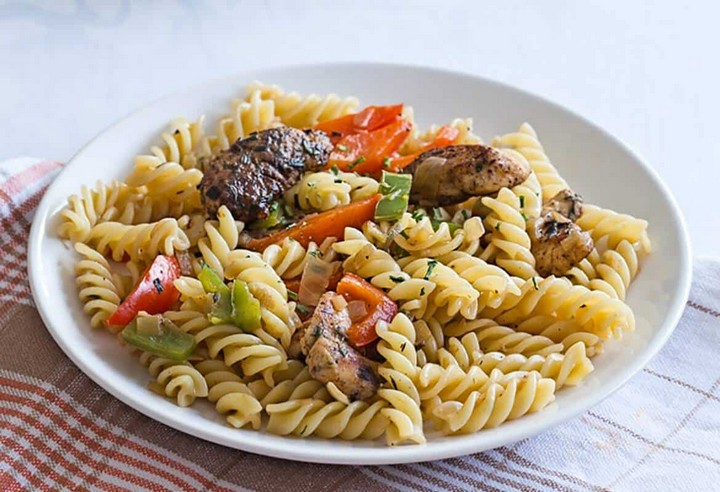 Rasta Pasta Recipe for Two
