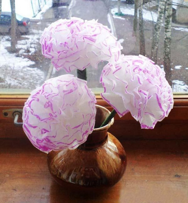 Recycling Plastic Straws and Making Paper Flower