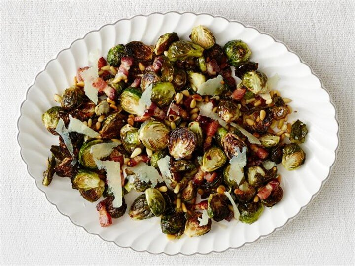 Roasted Brussels Sprouts with Bacon 1
