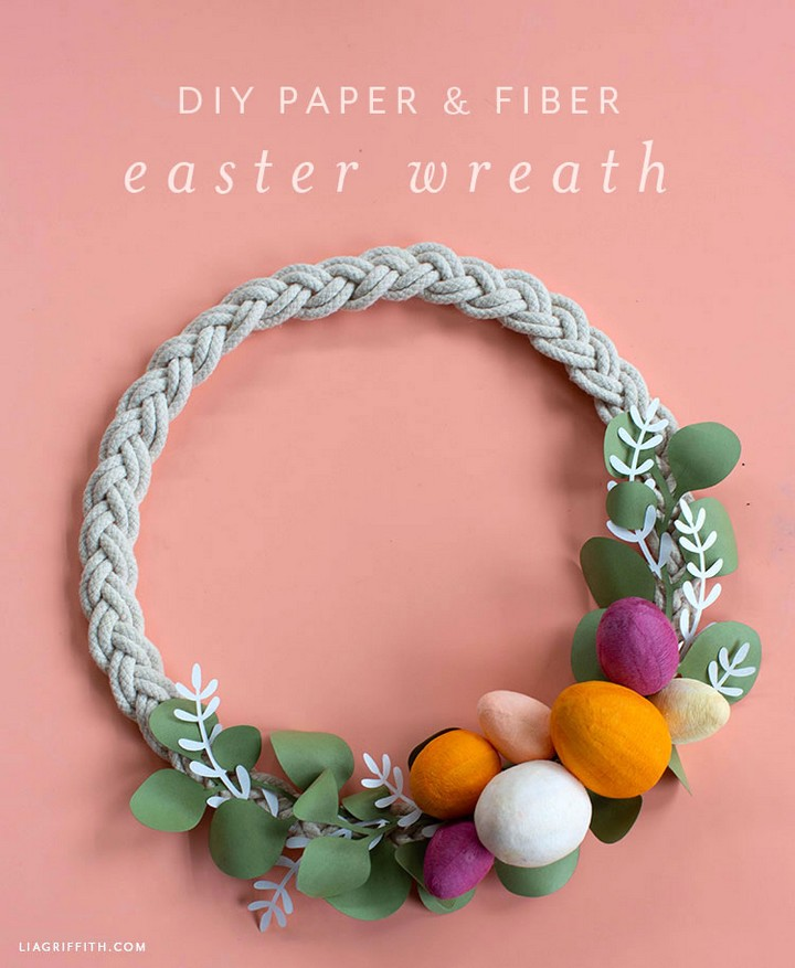 Seasonal DIY Decor How to Make an Easter Wreath
