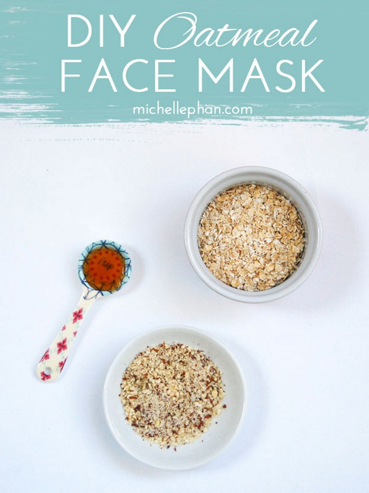 Simple Oatmeal DIY Face Mask