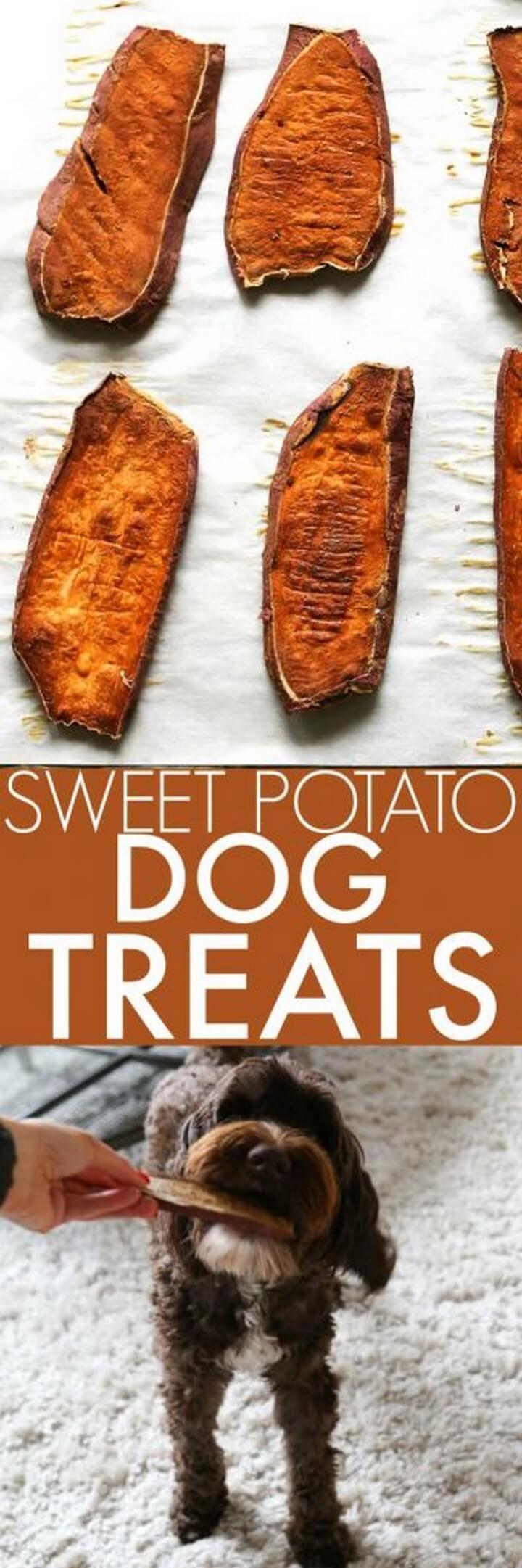 Sweet Potato Dog Chews 1