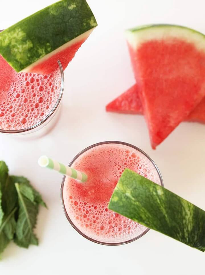Sweet Summertime Watermelon Juice
