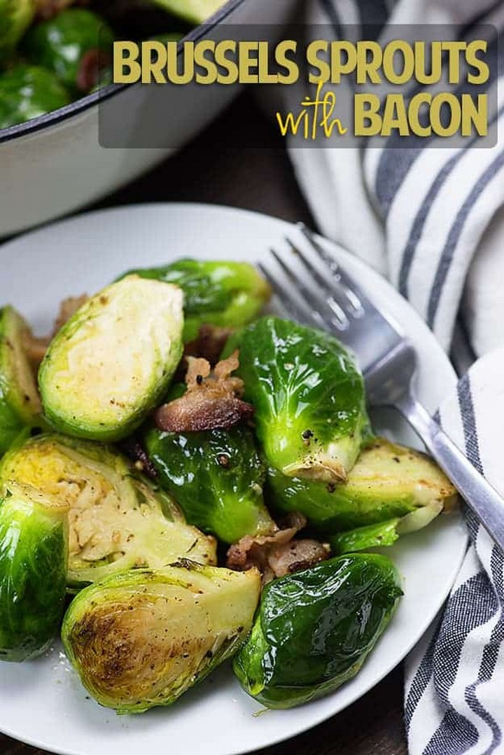 The BEST Brussels Sprouts and Bacon 1