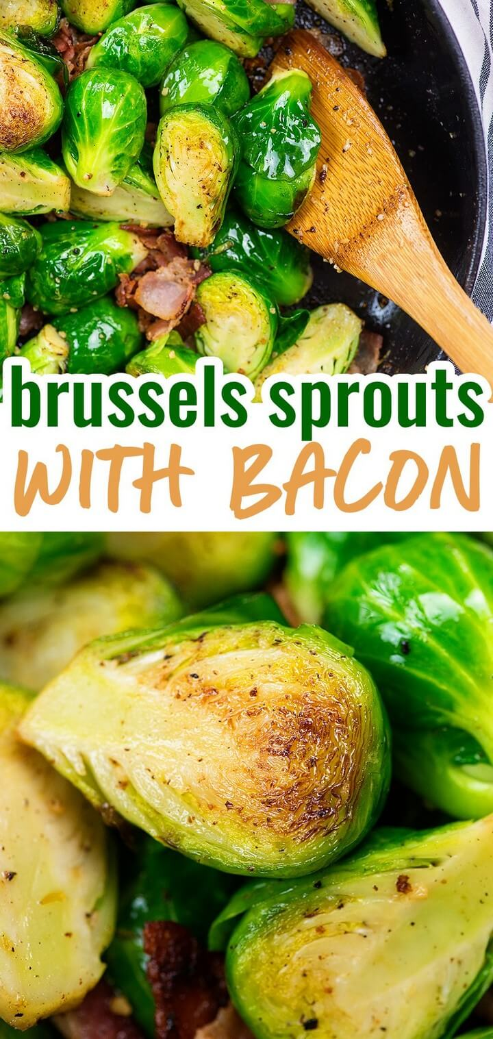 The BEST Brussels Sprouts and Bacon