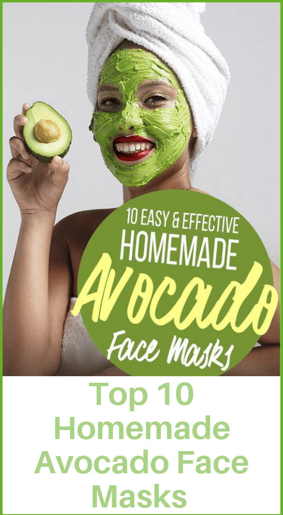 Top 5 Easy Effective Homemade Avocado Face Masks