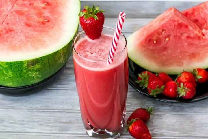 Watermelon Berry Juice