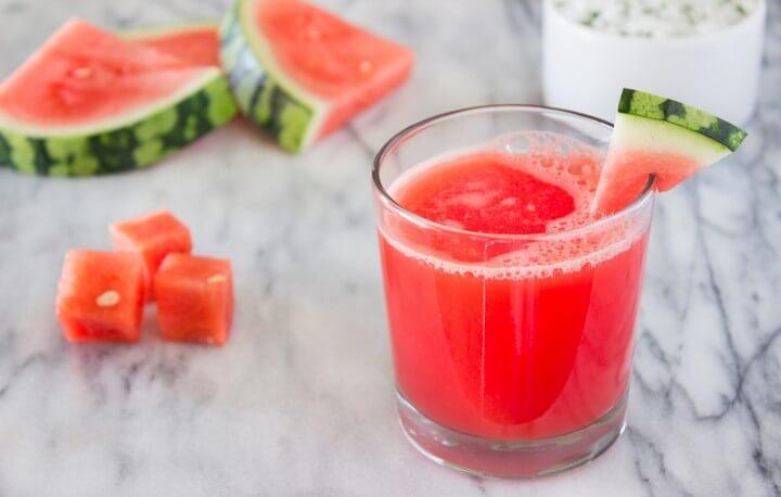 Watermelon Juice and Watermelon Water Recipe