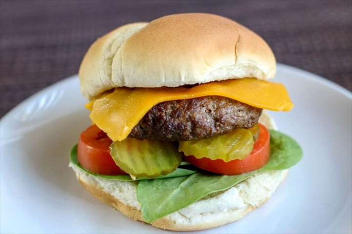 Air Fryer Hamburgers 3
