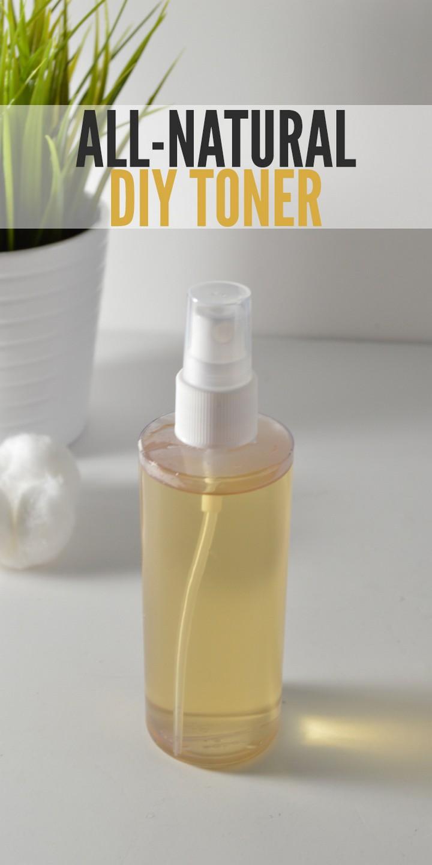 All Natural DIY Skin Toner