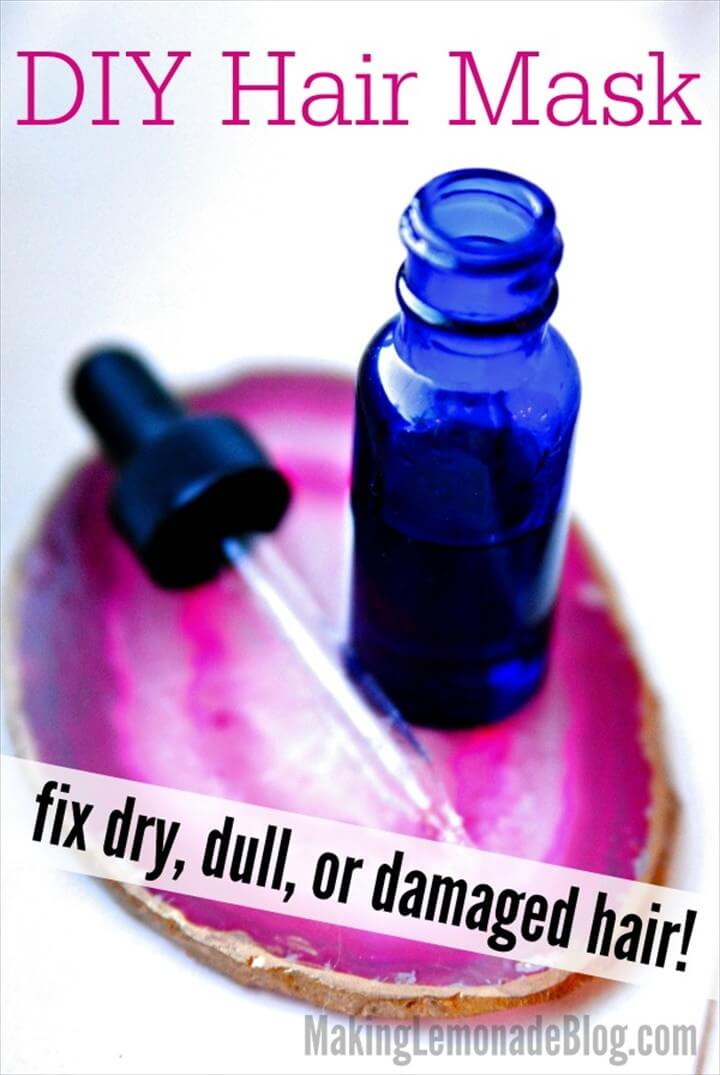 Amazing DIY Hair Mask With Essential Oils