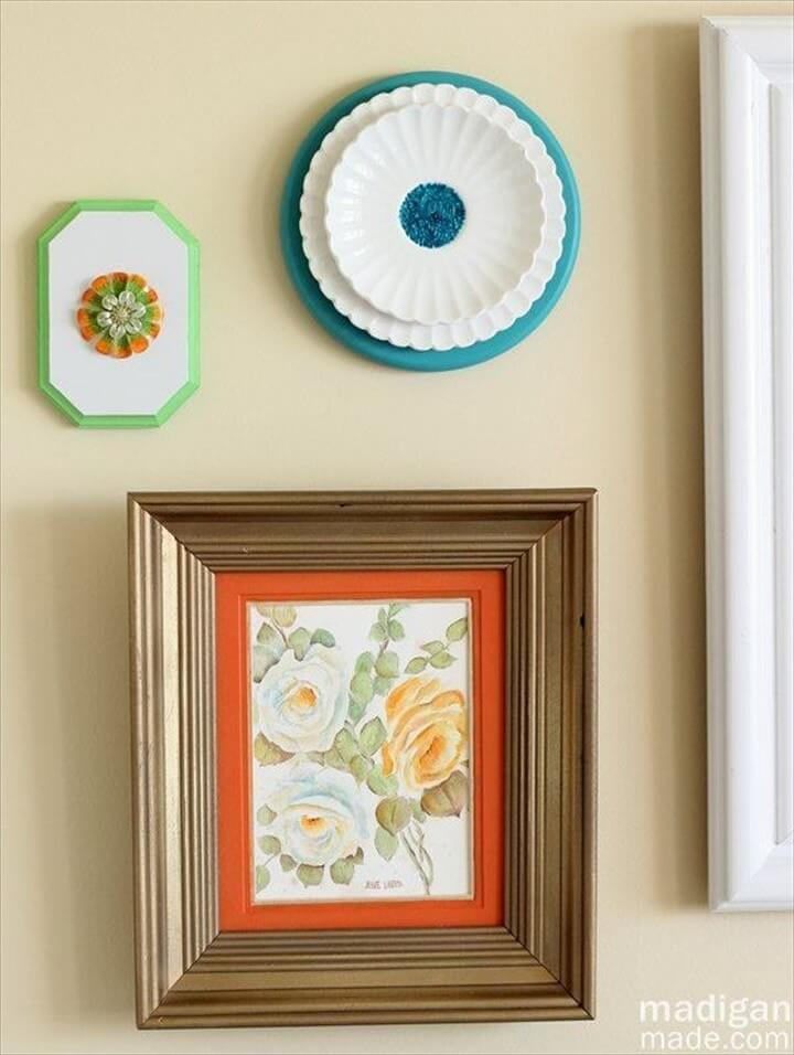 An Easy Tip To Turn Thrift Finds Into Chic Wall Art