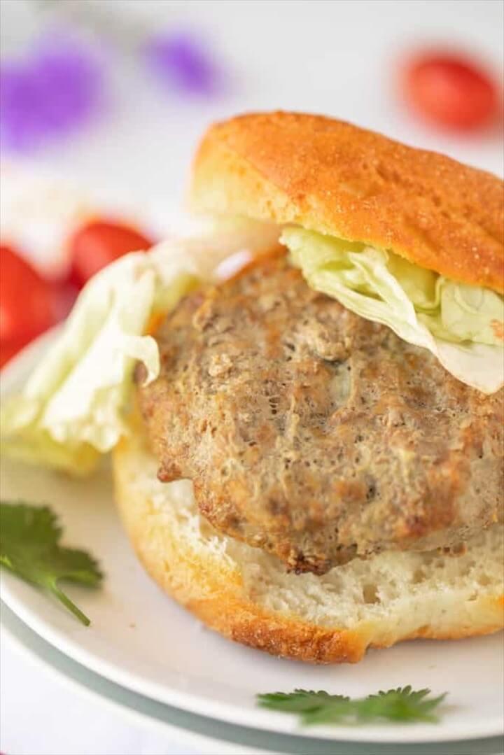 Best Air Fryer Hamburgers Recipe