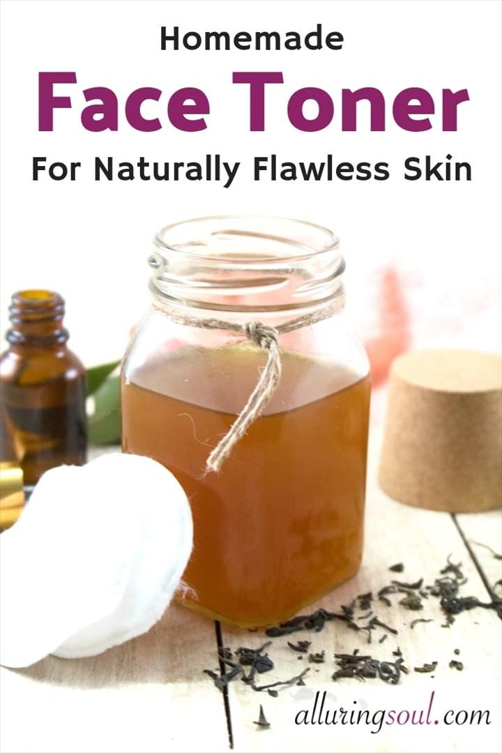 Best Homemade Face Toner For Naturally Flawless Skin