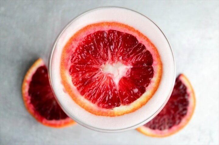 Blood Orange Rum Sour