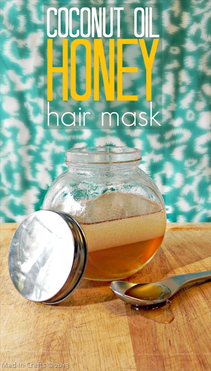 Coconut Oil Honey Hair Mask 1