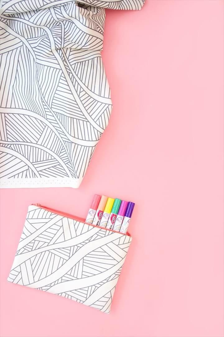 Coloring Book Fabrics