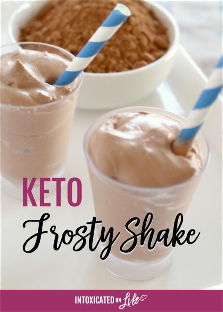 Copycat Keto Chocolate Frosty