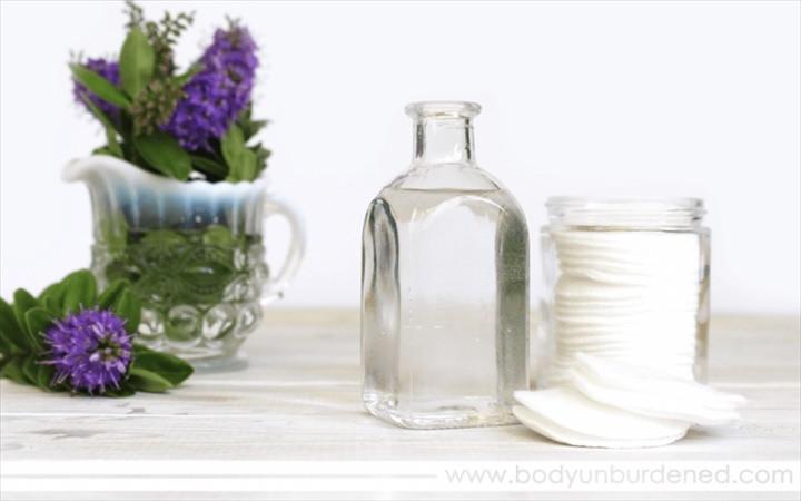 DIY All Natural Hydrating Face Toner
