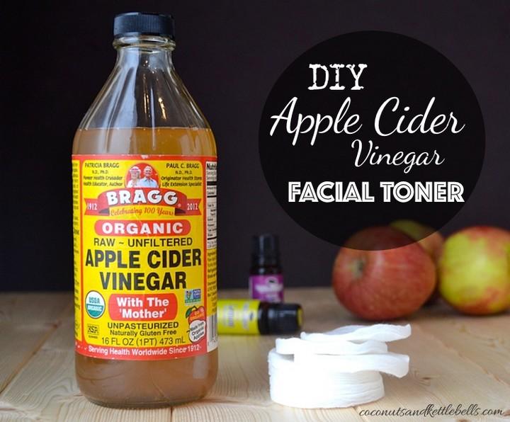 DIY Apple Cider Vinegar Facial Toner 1