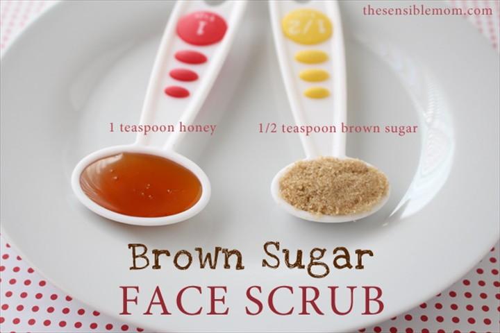DIY Brown Sugar Face Scrub