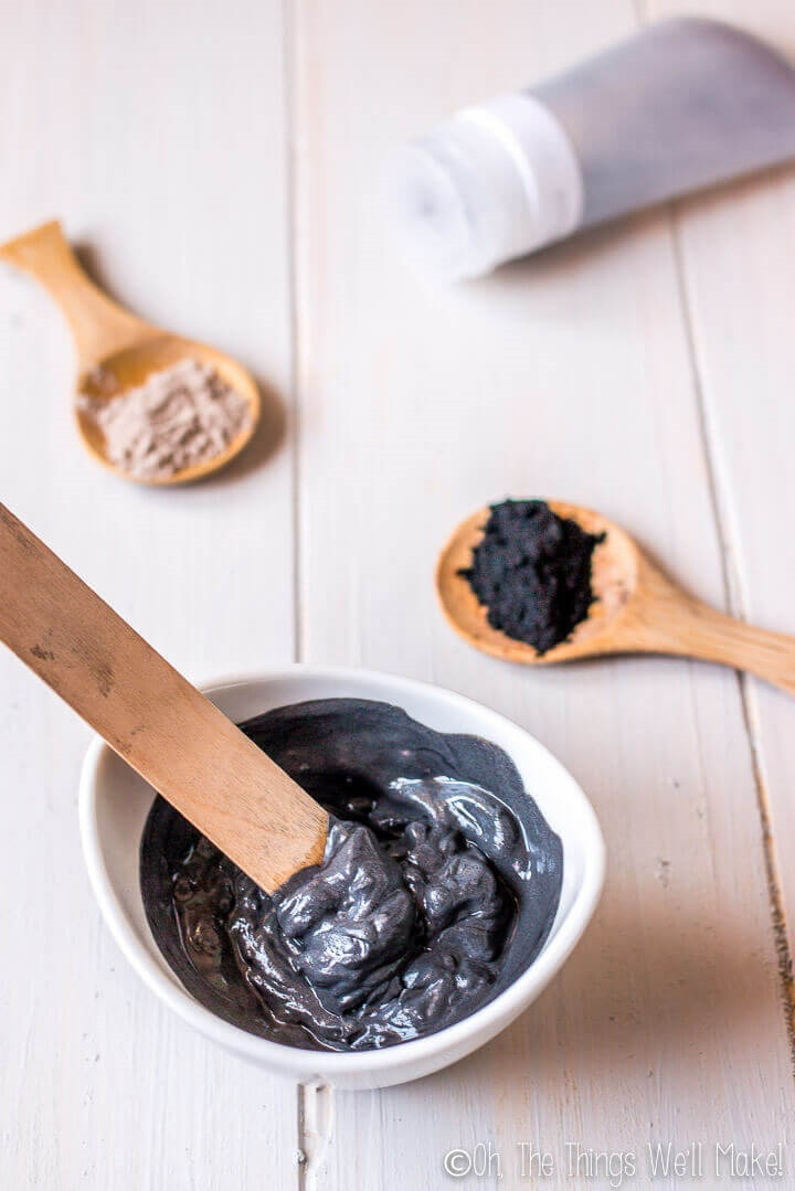 DIY Charcoal Face Mask for Acne Prone Skin