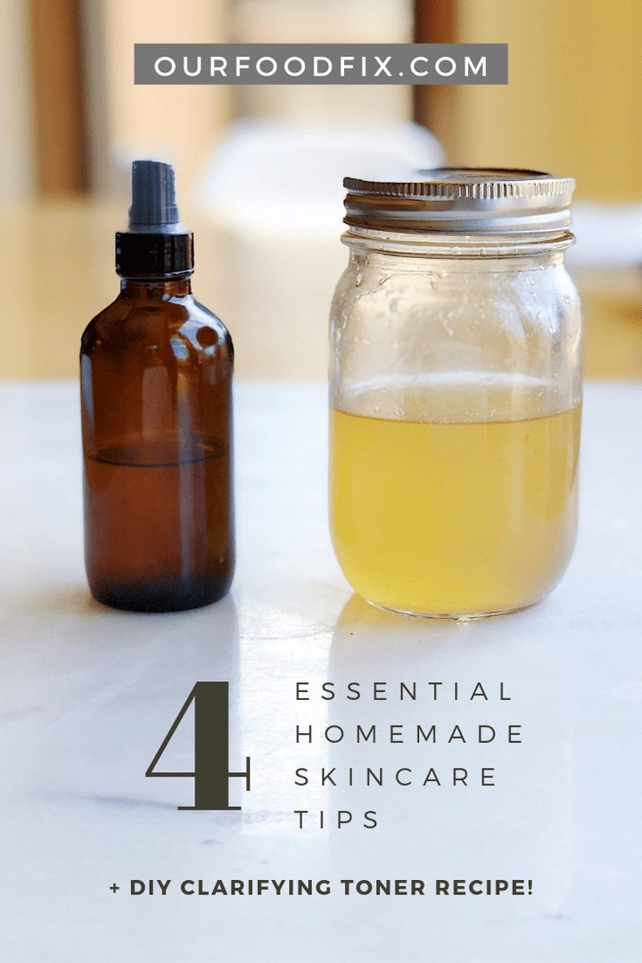 DIY Clarifying Toner Recipe Homemade Skincare Tips