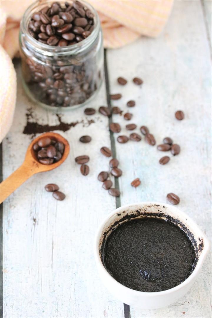 DIY Coffee Face Scrub