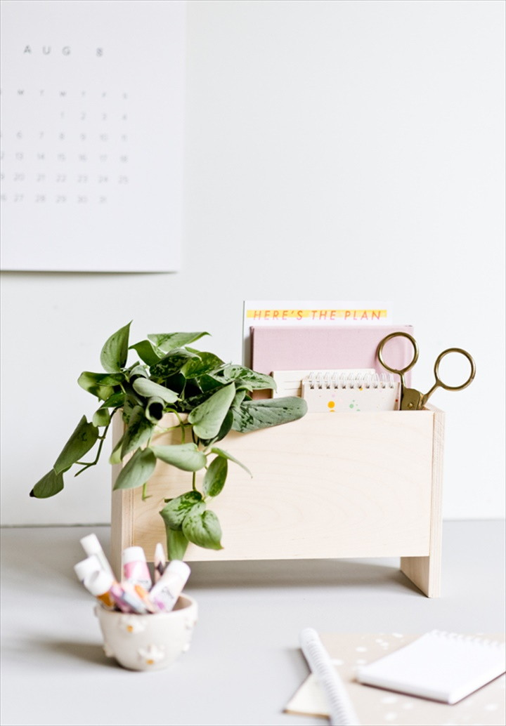 DIY Desk Organizer For Back To School And Beyond
