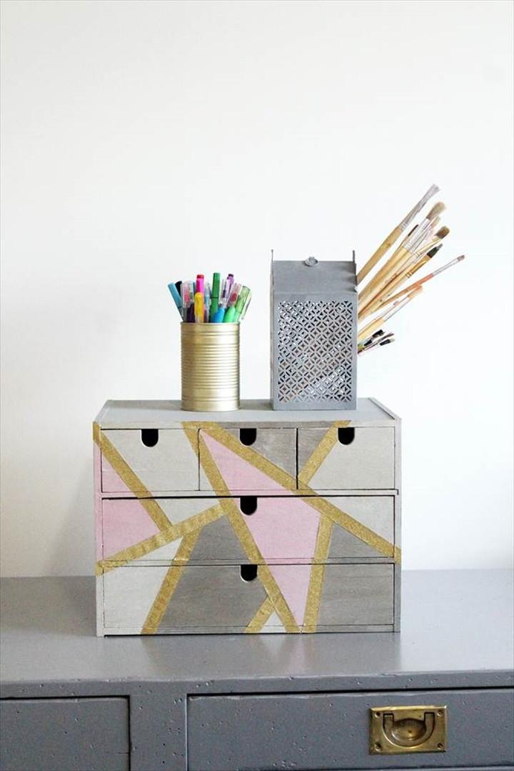 DIY Desk Organizer Makeover