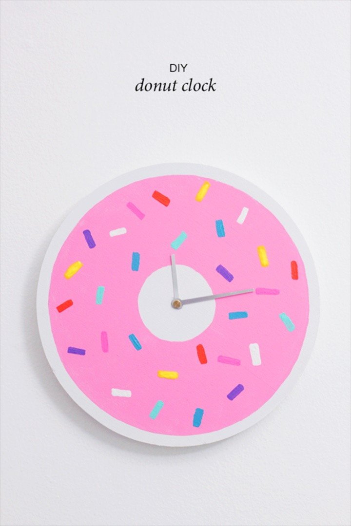 DIY Donut Clock