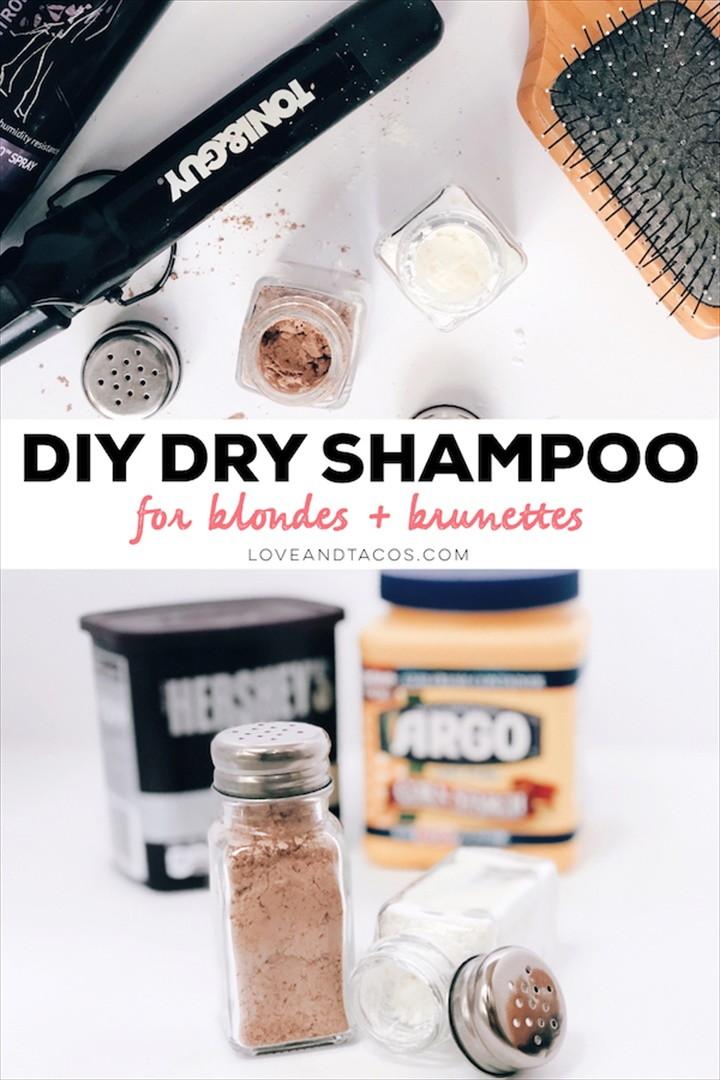 DIY Dry Shampoo – For Blonde Brunette Hair