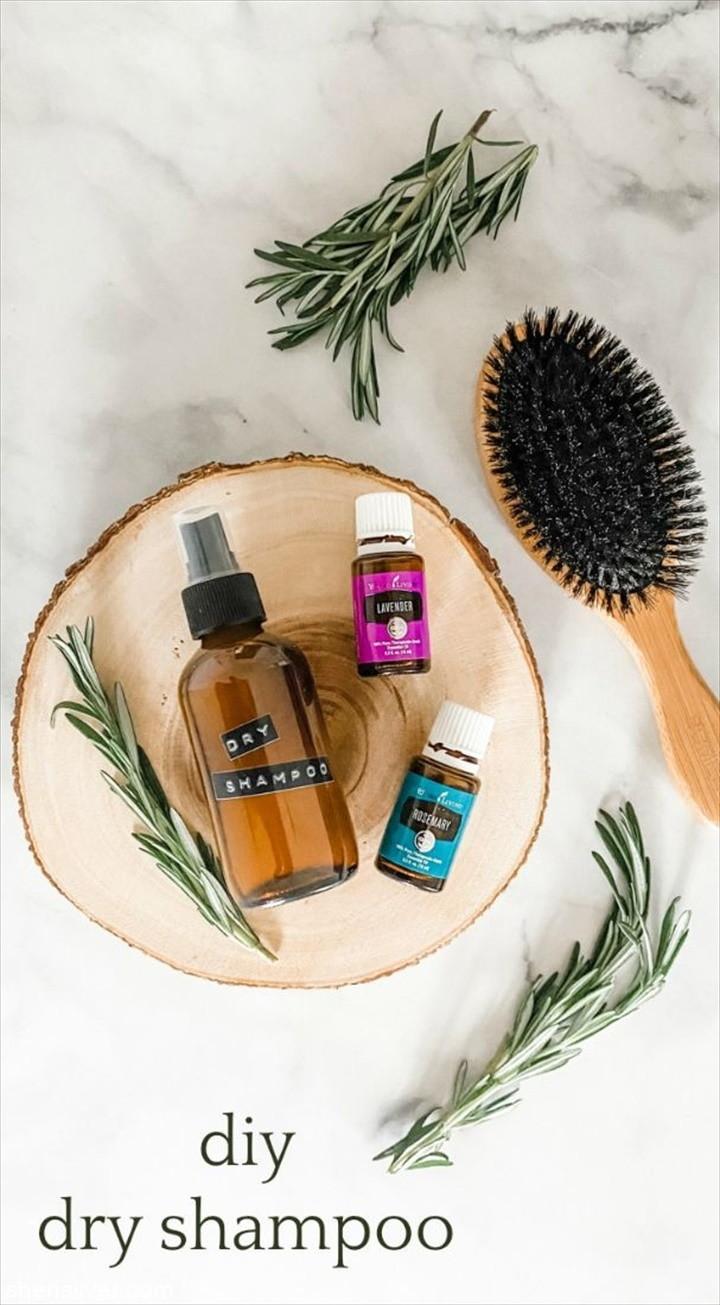 DIY Dry Shampoo Spray