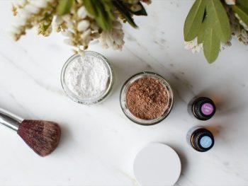 DIY Dry Shampoo with Lavender Ylang Ylang