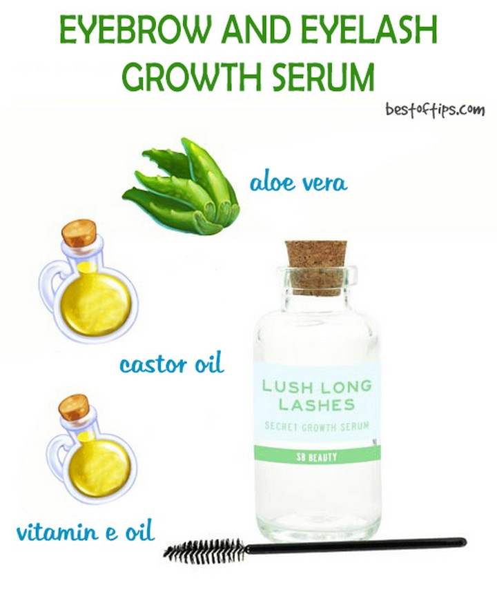 DIY Easy Eyelash Groth Serum