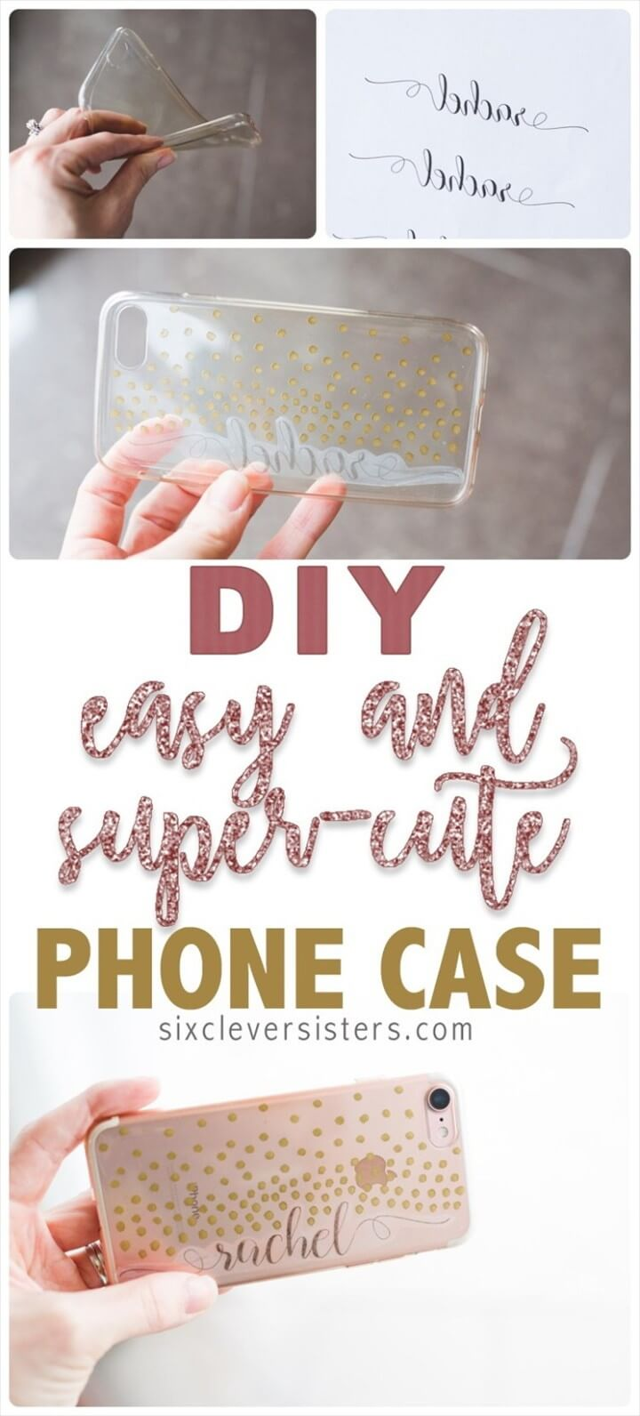 DIY Easy Super Cute Phone Case