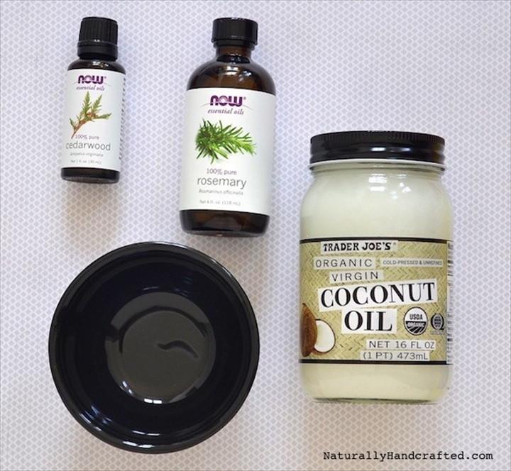 DIY Hair Growth Mask with Coconut Oil