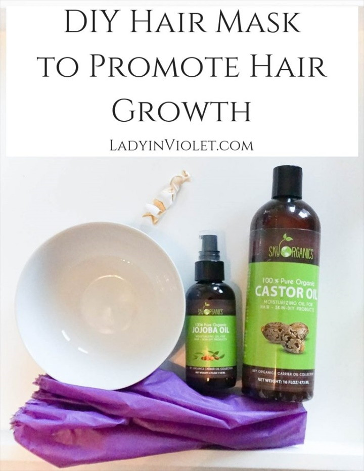 DIY Hair Mask To Promote Hair Growth