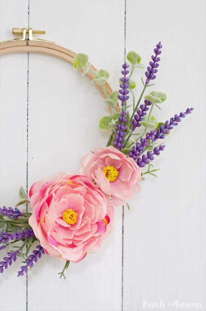 DIY Lavender Wreath Tutorial