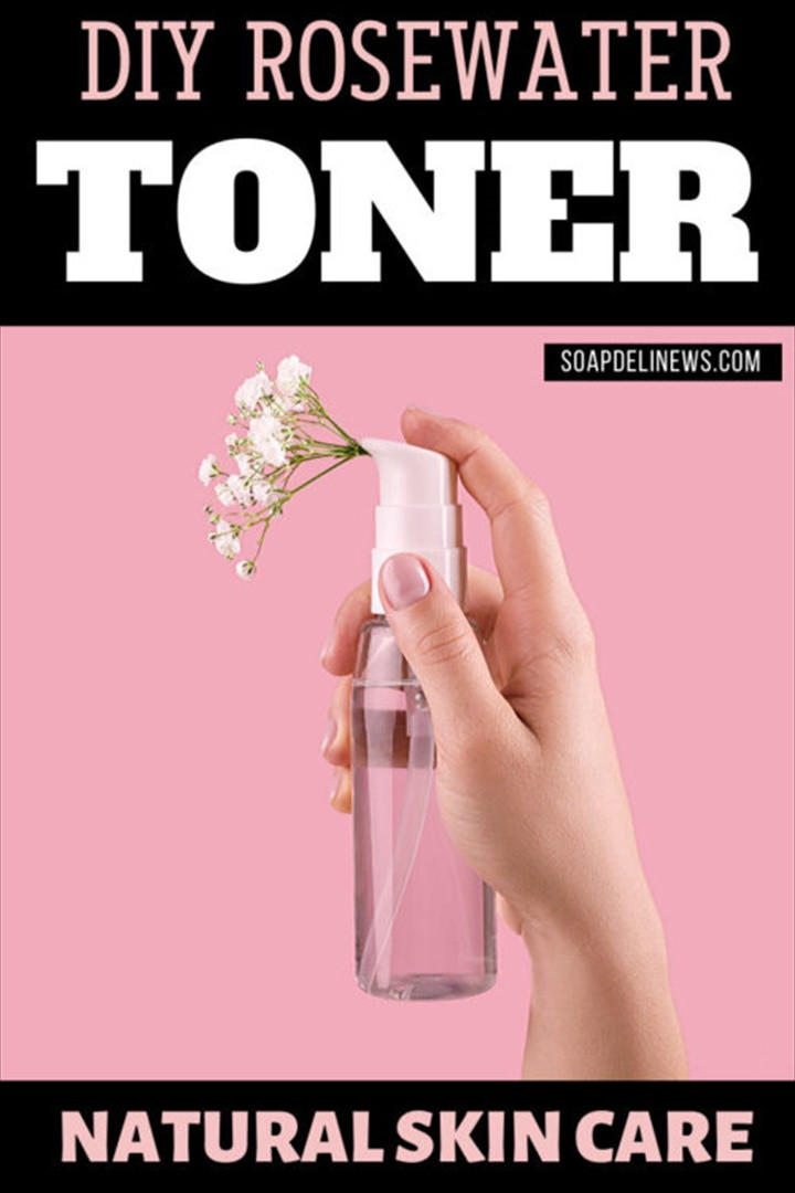 DIY Rosewater Toner Recipe for Your Natural Skin Care Routine