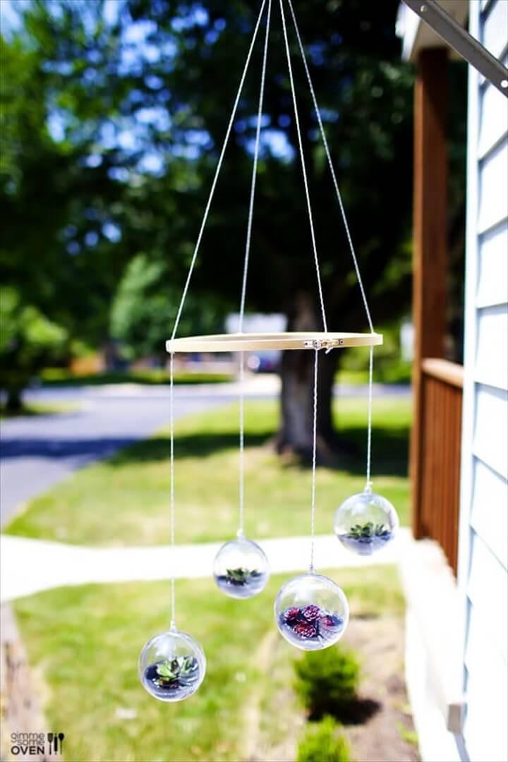 DIY Terrarium Mobile